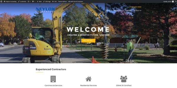 Homepage  Neylon Excavating